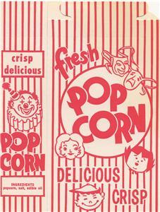 old popcorn box