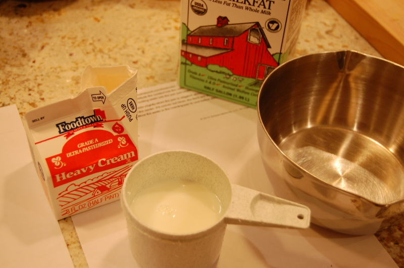 ingredients for milk part